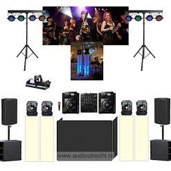 complete disco set licht en geluid 4