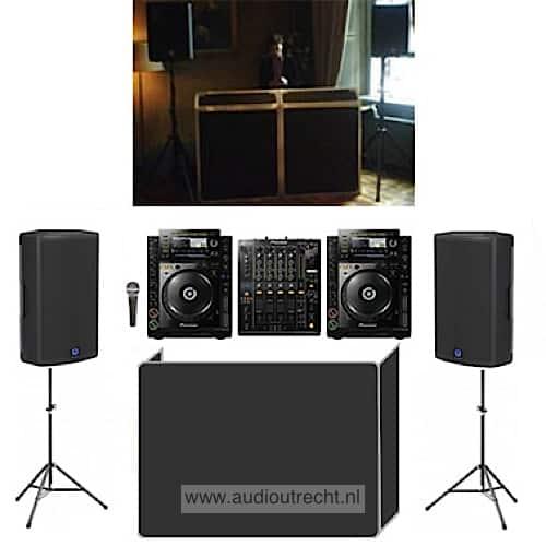 Complete disco set licht geluid 1