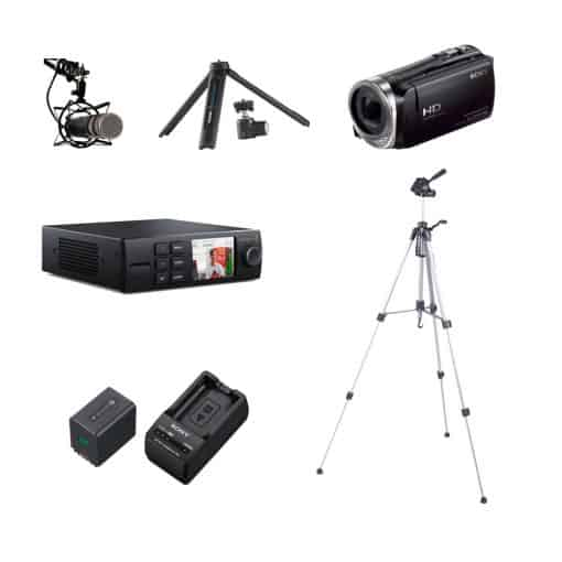 Webcast set Basic