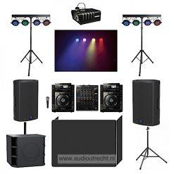 complete disco set licht geluid 2